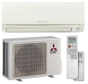 Mitsubishi Mr. Slim Ductless AC   MUYGE12NA & MSYGE12NA Mini Split 12k