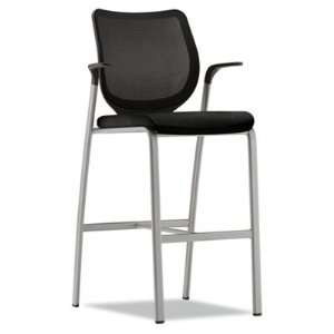 HON Nucleus Series Caf  Height Stool, Black ilira stretch