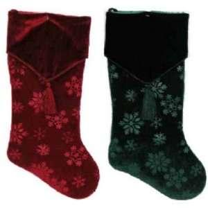 Prima Creations #X53447TS 20 Snowflake Stocking