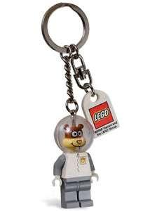 NEW* LEGO Spongebob SANDY SPACESUIT Key Chain 852240