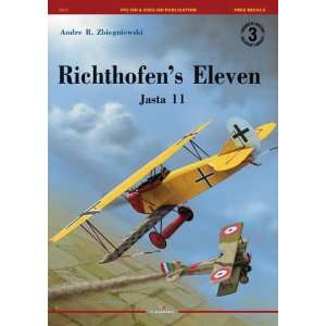 Richthofens Eleven: Jasta 11(Legends of Aviation
