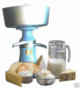 Electric milk cream centrifugal separator 80l/h dairy farm English