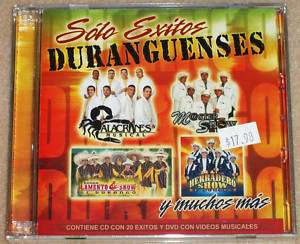 SOLO EXITOS DURANGUENSES  VARIOUS/ 20 SUPER EXITOS DVD