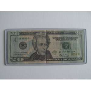 Twenty Dollars Star Note Series 2006 $20 Bill IF05839550