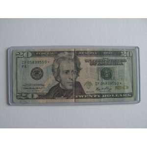 Twenty Dollars Star Note Series 2006 $20 Bill IF05839550