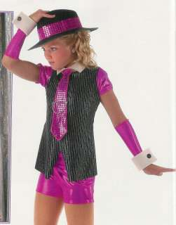 SMOOTH Jazz Tap Dance Costume Glitz CS, CM, AS, AM & 2XL