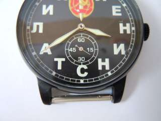 TYPE OF WATCHES SOVIET SMERSH BEAUTIFUL VINTAGE 1960S WRISTWATCH