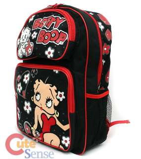 Betty Boop NEW School Backpack/Bag16 Large w/Pudgy