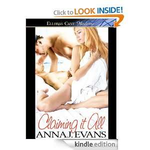 Claiming it All: Anna J. Evans:  Kindle Store