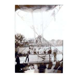 Balloon Expedition; Photographic representation of Men