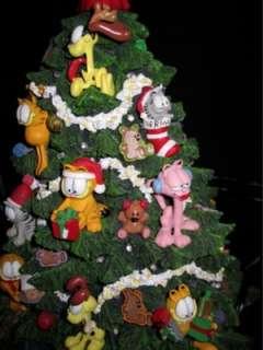 The Garfield Christmas Tree Danbury Mint 14 Lights Up