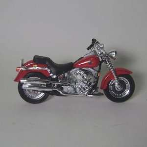2002 FLSTF Fat Boy Diecast Motorcycle 118 scale Toys & Games