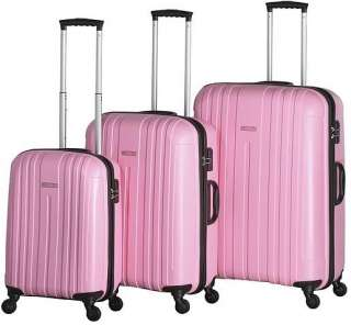 Heys Travel Concepts CIRRUS 4WD Luggage Set PINK 806126036936