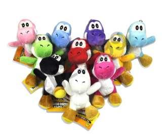 Lot 10 Super Mario brother Yoshi Plush Toy M19