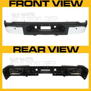 CHEVROLET SILVERADO OEM REPLACEMENT REAR STEP BUMPER ASSEMBLY