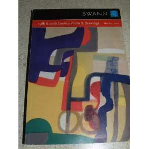 & Drawings   March 4, 2003   Catalog # 1962 Swann Galleries Books