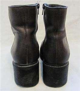 Nine West Cloud 9 Leather Ankle Boot Women sz 7.5