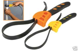 PC. STRAP WRENCH Clench Grip Jar Opener Pipe Wrench