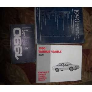 1990 Ford Taurus Mercury Sable Service Shop Manual Set (service manual