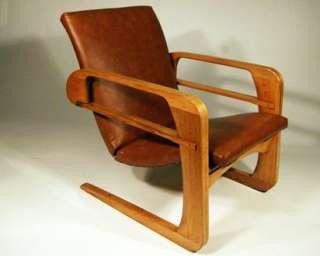 Original 1934 Art Deco Modern Kem Weber Airline Chair