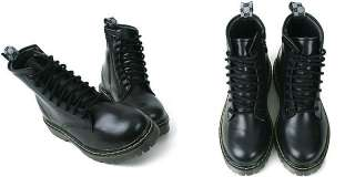 Military Combat Zip Boots US 6~8.5 / Ladies High Top Mid Calf Shoes