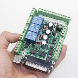 DIY Engraving Machine MACH3 USB CNC 4 Axis Interface Breakout Board