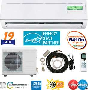 ENERGY STAR   Inverter DC Ductless Mini Split Heat Pump