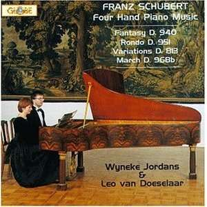 Franz Schubert (Composer), Wyneke Jordans (Piano), Leo van Doeselaar