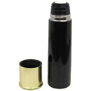 Wall Stainless Steel Insulated 20gauge Shotshell Thermal Bottle, Black