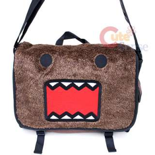 Domo Kun Plush School Messenger Bag Bag Authentic Licensed