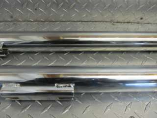 1995 AND UP HARLEY DAVIDSON FLH MODELS FISHTAIL DRAG TIPS EXHAUST PIPE