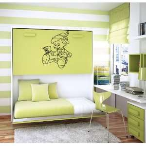 Pinocchio Cricket Cartoon Kids Room Wall Vinyl Sticker