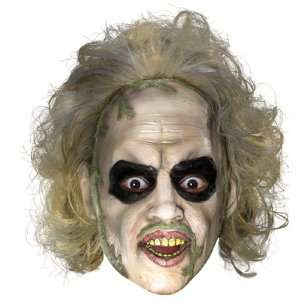Lets Party By Rubies Costumes Beetlejuice 3/4 Vinyl Mask