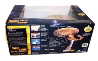 STAR TREK 7 ANNIVERSARY ENTERPRISE GOLD SHIP NCC 1701 D