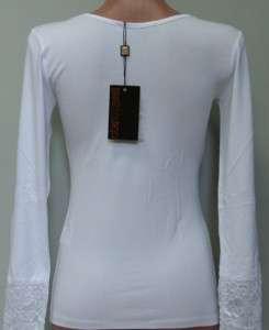 FINAL SALE Roberto Cavalli new season lace shirt blouse top sz XL