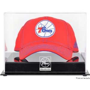 Mounted Memories Philadelphia 76Ers Acrylic Team Logo Cap Display Case