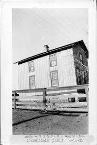 Photo ca 1930 Rowe New Mexico Railroad Section House