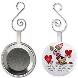 Creative Clam Love Puppy Hearts Valentines Day 2.25 Inch