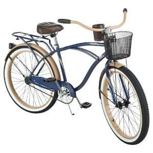 Huffy Mens Deluxe Cruiser 26 1 Speed Bicycle