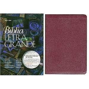 Biblia De Referencias De Letra Grande (9780899224282