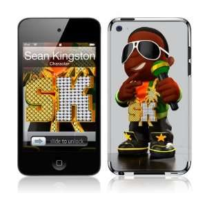 4th Gen  Sean Kingston  Character Skin: MP3 Players & Accessories