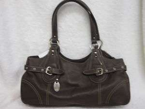 Womens New Franco Sarto Marshall Field Leather Purse Handbag