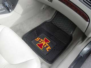 Iowa State Cyclones 2PC Heavy Duty Vinyl Car Floor Mats