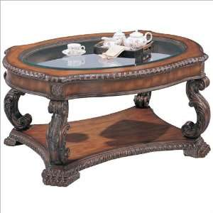 Antique Finish Coffee Table by Coaster Furniture & Decor