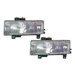 Chevy/GMC Express/Rally Van/Savana Headlights Headlamps