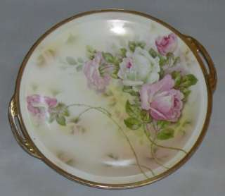 Antique Porcelain Royal Rudolstadt Prussia Tray Plate