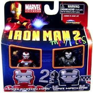 35 Mini Figure 2Pack Iron Man Mark V & War Machine Toys & Games