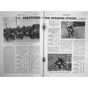 MOTOR CYCLING MAGAZINE 1949 ROYAL ENFIELD BULLET LODGE