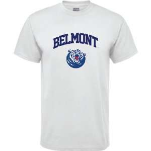 Belmont Bruins White Youth Arch Logo T Shirt Sports