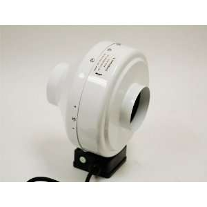 6 High Outlet Hydroponics Inline Duct Fan Patio, Lawn